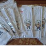 徳島県の㈱福井組様より自社キャラクター入りのTシャツのご注文をいただきました。